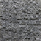 BASALT BLACK ROCK MOSAIC