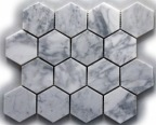 BIANCO CARRARA HEX POLISHED