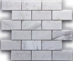 IMPERIAL WHITE BRICK POLISHED MOSAIC