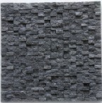 BLACK BASALT SPLIT MOSAIC