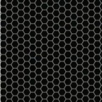 HEXAGON MOSAICS BLACK