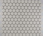 HEXAGON MOSAICS WHITE